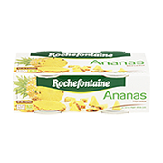 Ananas morceaux Rochefontaine