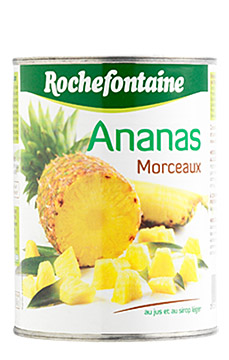 Ananas morceaux