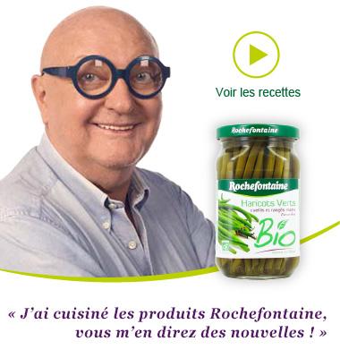 Les recetes vidéos de Rochefontaine avec Jean-Pierre Koff